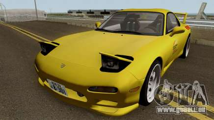 Mazda RX7 (FD3S) Initial D Movie Keisuke pour GTA San Andreas