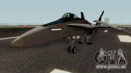 FA-18C Hornet VMFA-321 MG-00 pour GTA San Andreas