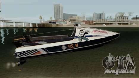 PUBG Aquarail für GTA San Andreas Rückansicht
