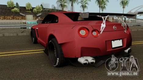 Nissan GT R35 (Rocket Bunny) Edition pour GTA San Andreas