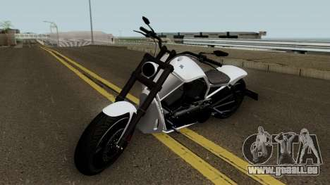 Western Motorcycle Nightblade GTA V für GTA San Andreas