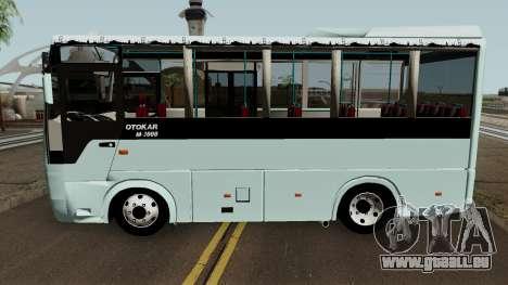 Otokar M3000 (2008) pour GTA San Andreas laissé vue