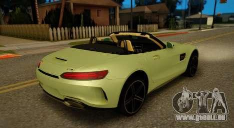 Mercedes-Benz GT-C pour GTA San Andreas vue de droite