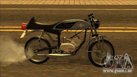 Famel XF-17 - portugais Moto pour GTA San Andreas