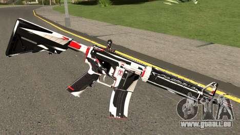 M4A4 TiiTree pour GTA San Andreas deuxième écran
