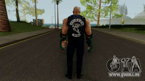 Stone Cold (Texas Rattlesnake) from WWE Immortal pour GTA San Andreas troisième écran