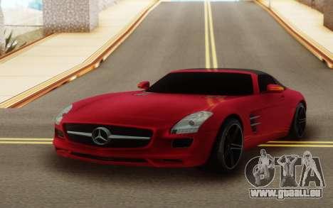 Mercedes-Benz SLS AMG Roadster für GTA San Andreas