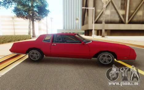 Chevrolet Monte Carlo 1988 für GTA San Andreas zurück linke Ansicht