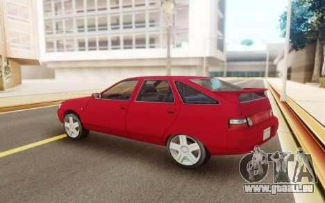 VAZ 2112 Hatchback für GTA San Andreas linke Ansicht