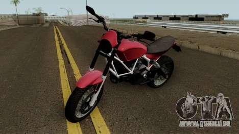 Pegassi Esskey GTA V für GTA San Andreas