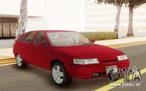 VAZ 2112 Hatchback für GTA San Andreas Rückansicht