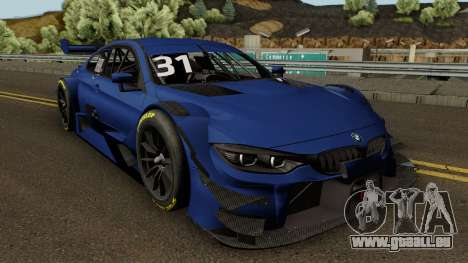 BMW M4 Driving Experience Racing 2017 pour GTA San Andreas