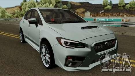 Subaru WRX STI 2016 pour GTA San Andreas vue intérieure