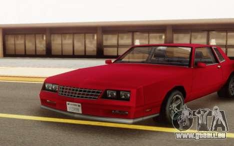 Chevrolet Monte Carlo 1988 für GTA San Andreas rechten Ansicht