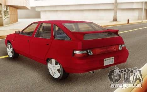 VAZ 2112 Hatchback für GTA San Andreas zurück linke Ansicht