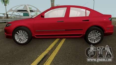 Mazda 3 für GTA San Andreas linke Ansicht