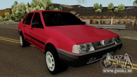 Volkswagen Santana Tunable für GTA San Andreas Innenansicht