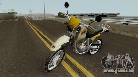 Honda XLX 350R pour GTA San Andreas