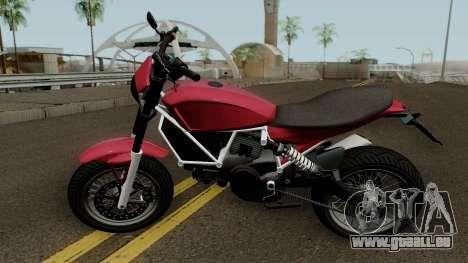 Pegassi Esskey GTA V für GTA San Andreas linke Ansicht