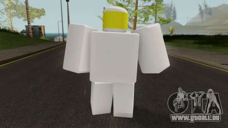 Roblox Noob pour GTA San Andreas troisième écran