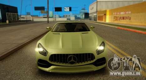 Mercedes-Benz GT-C pour GTA San Andreas laissé vue