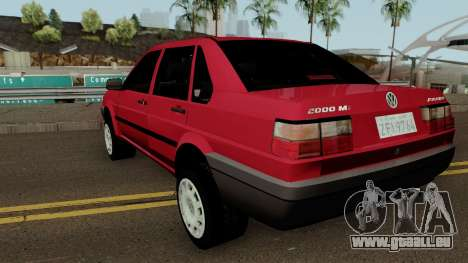 Volkswagen Santana Tunable für GTA San Andreas zurück linke Ansicht