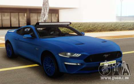 Ford Mustang GT 2018 für GTA San Andreas
