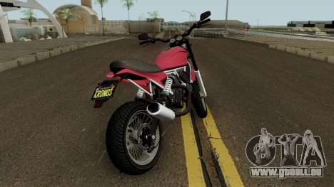 Pegassi Esskey GTA V für GTA San Andreas rechten Ansicht