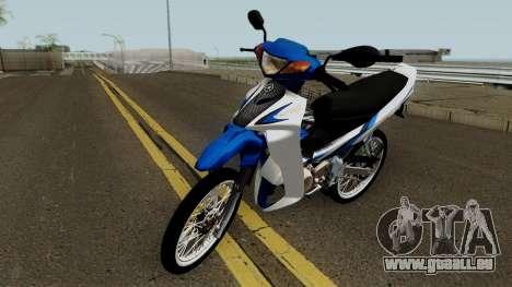 Yamaha 125z STD Version pour GTA San Andreas