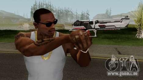 Desert Eagle TiiTree pour GTA San Andreas troisième écran