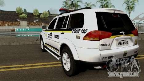Mitsubishi Pajero Dakar Brazilian Police für GTA San Andreas