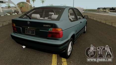 BMW 3-Series e36 Compact 318ti 1995 (US-Spec) pour GTA San Andreas vue de droite