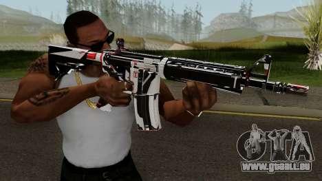 M4A4 TiiTree pour GTA San Andreas troisième écran