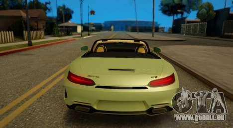 Mercedes-Benz GT-C pour GTA San Andreas vue arrière