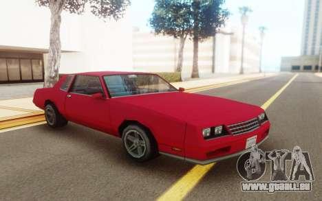 Chevrolet Monte Carlo 1988 für GTA San Andreas