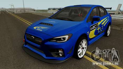Subaru WRX STI 2016 pour GTA San Andreas roue