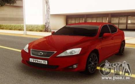 Lexus IS 250 V6 für GTA San Andreas