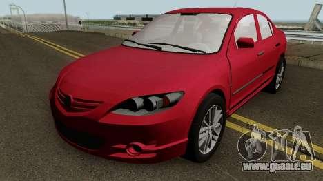 Mazda 3 für GTA San Andreas