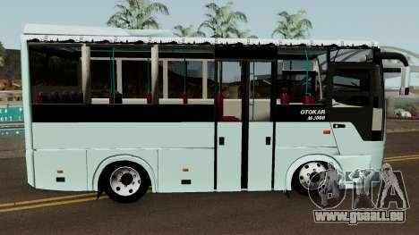 Otokar M3000 (2008) pour GTA San Andreas vue arrière