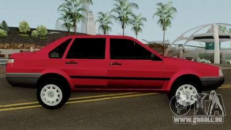 Volkswagen Santana Tunable für GTA San Andreas Rückansicht