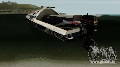 PUBG Aquarail für GTA San Andreas zurück linke Ansicht