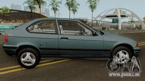 BMW 3-Series e36 Compact 318ti 1995 (US-Spec) pour GTA San Andreas vue arrière