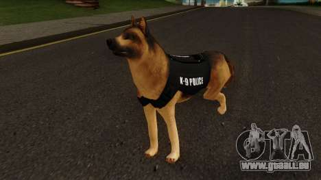 K9 Dog With Vest pour GTA San Andreas