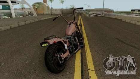 Western Motorcycle Daemon GTA V für GTA San Andreas rechten Ansicht