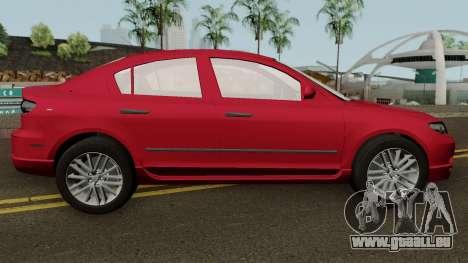 Mazda 3 für GTA San Andreas Rückansicht