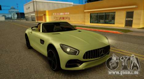 Mercedes-Benz GT-C pour GTA San Andreas sur la vue arrière gauche