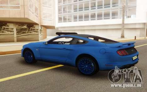 Ford Mustang GT 2018 für GTA San Andreas linke Ansicht
