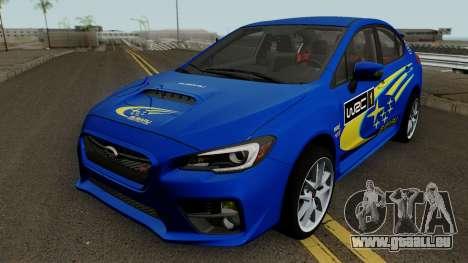 Subaru WRX STI 2016 pour GTA San Andreas salon
