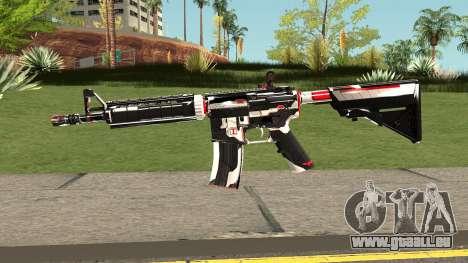 M4A4 TiiTree pour GTA San Andreas
