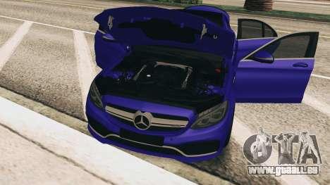 Mercedes-Benz C63S AMG pour GTA San Andreas